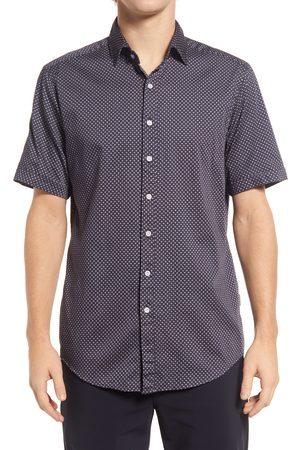 Rodd & Gunn Men's Greenfields Geo Short Sleeve Button-Up Shirt