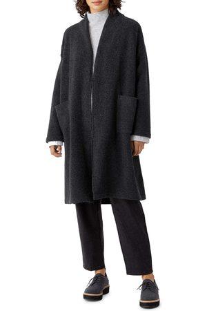Eileen Fisher Women's Cozy Open Front Duster