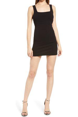 Lulus Women's Back Up On It Body-Con Minidress