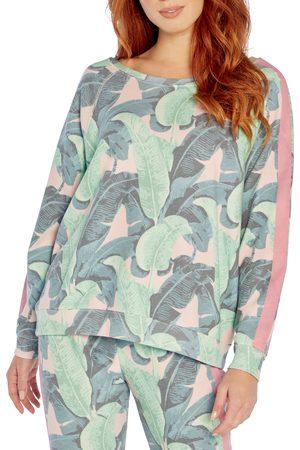 Wild Fox Women's Martinique Sommers Leaf Print Sweatshirt