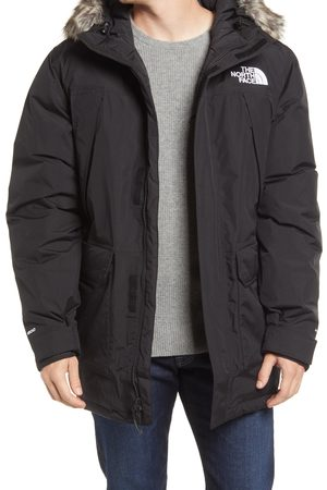The North Face Men's Mcmurdo Waterproof 550 Fill Power Down Parka With Faux Fur Trim