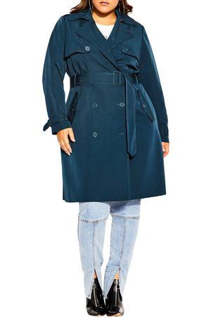 City Chic Plus Size Women's Utility Trench Coat
