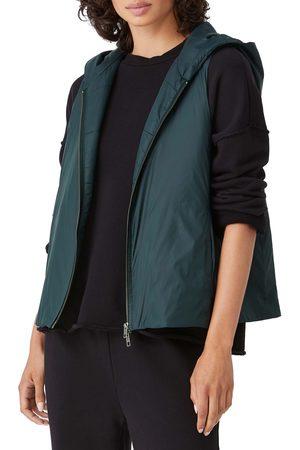 Eileen Fisher Women's Hooded Vest