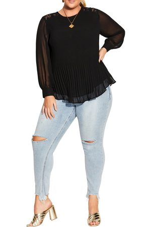 City Chic Plus Size Women's Lust After Top