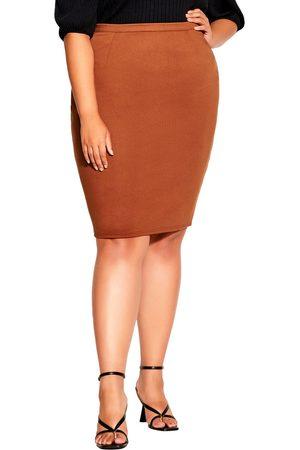 City Chic Plus Size Women's Tube Skirt