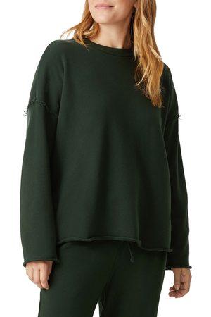 Eileen Fisher Women's Crewneck Boxy Organic Cotton Sweatshirt