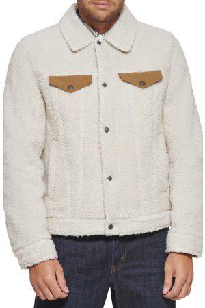 Levi's Men's High Pile Fleece Trucker Jacket