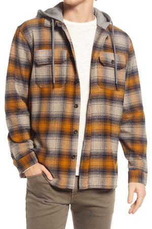 BLANK NYC Men's Macho Man Plaid Shirt Jacket