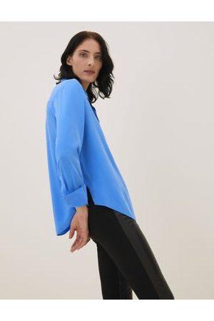 Autograph Women Long sleeves - Pure Silk Long Sleeve Shirt