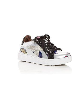 Steve Madden Girls Sneakers - Girls' JWings Embellished Low Top Sneakers - Toddler, Little Kid, Big Kid