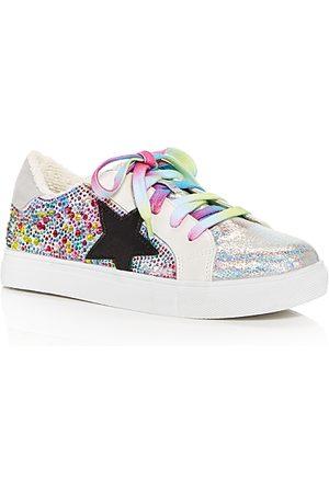 Steve Madden Girls Sneakers - Girls' JRezumer Embellished Low Top Sneakers - Toddler, Little Kid, Big Kid