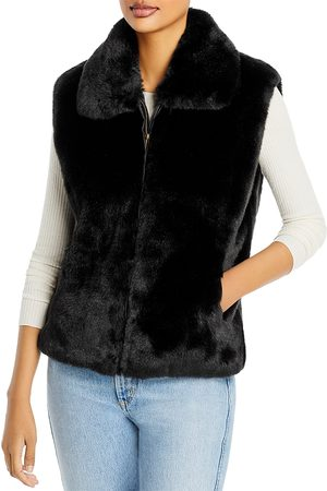 Surell Women Gilets - Faux Fur Vest