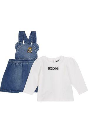 Moschino Baby T-shirt and dress set