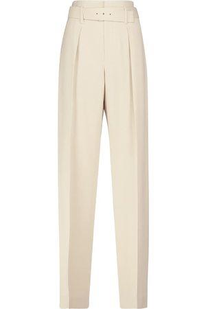 Brunello Cucinelli High-rise straight pants