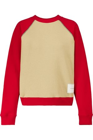Victoria Beckham Bi-color organic cotton sweatshirt