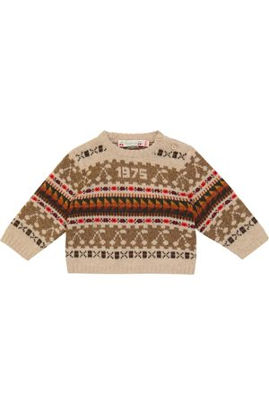 BONPOINT Baby Tahicia wool and cotton-blend sweater