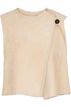 Isabel Marant Cassylia shearling-lined suede vest
