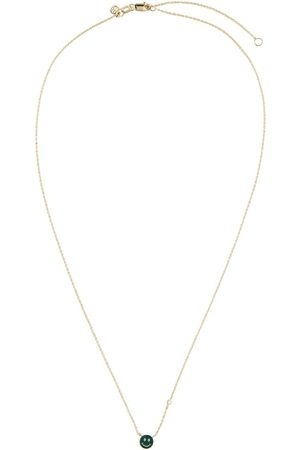 Sydney Evan Happy Face 14kt necklace with diamond