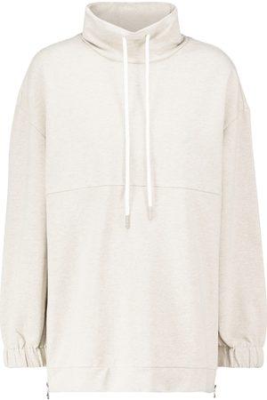 Varley Warwick hooded cotton-blend sweatshirt