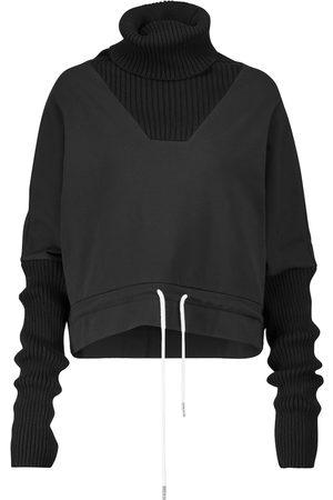 Varley Brittania cropped cotton-blend sweatshirt