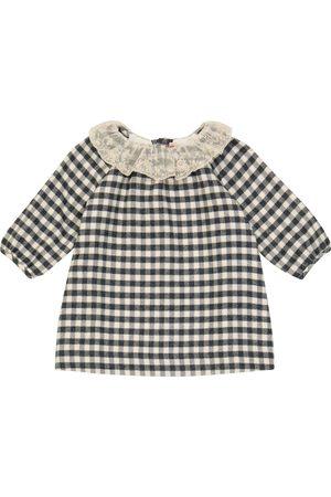 BONPOINT Baby Flavili checked cotton dress