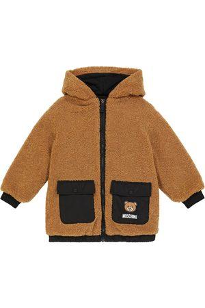 Moschino Teddy bear faux fur jacket
