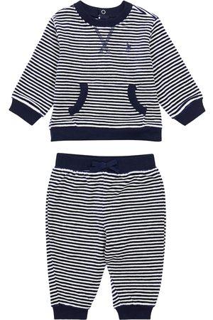 Ralph Lauren Striped sweatshirt and sweatpants set