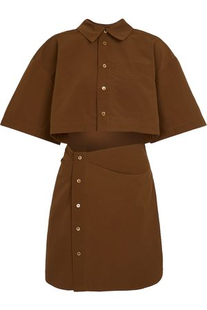 Jacquemus La Robe Arles shirt minidress
