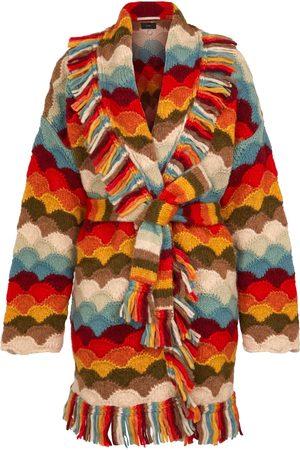 Alanui Rainbow Mountains alpaca-blend cardigan