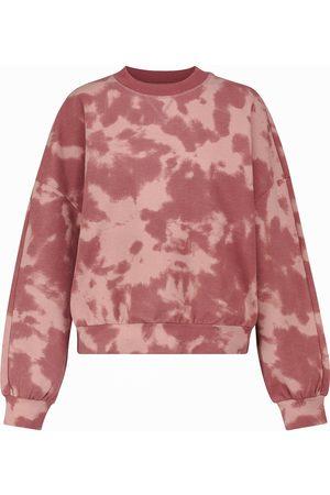Varley Erwin tie-dye cotton-blend sweatshirt