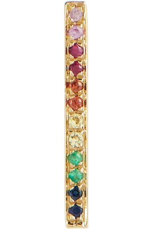 Sydney Evan Women Studs - Rainbow 14kt gold earrings with rubies, emeralds and sapphires
