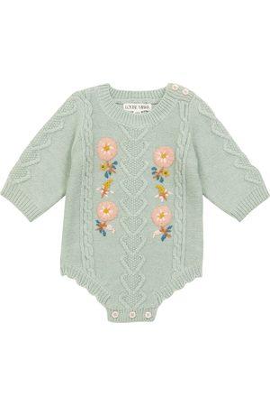 Louise Misha Baby Myosette embroidered bodysuit
