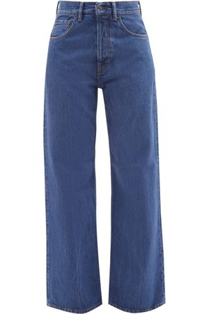 Acne Studios 2021f Brutus High-rise Bootcut Jeans - Womens