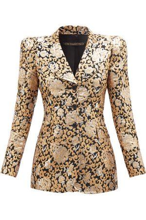 The Vampire's Wife Women Jackets - No.2 Single-breasted Brocade Jacket - Womens