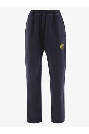 Balenciaga Quest Logo-patch Cotton Track Pants - Womens