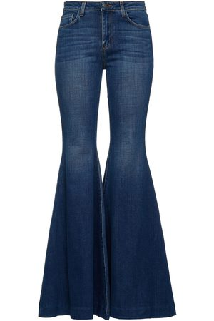 L'Agence Woman Lorde High-rise Flared Jeans Mid Denim Size 27