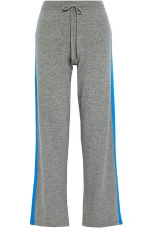 Chinti & Parker Woman Striped Wool And Cashmere-blend Track Pants Size L