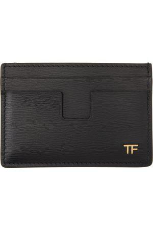 Tom Ford Black T Line Card Holder