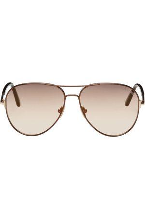 Tom Ford Clark Aviator Sunglasses