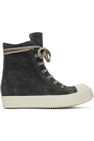 Rick Owens Women Sneakers - Velvet Suede High Sneakers