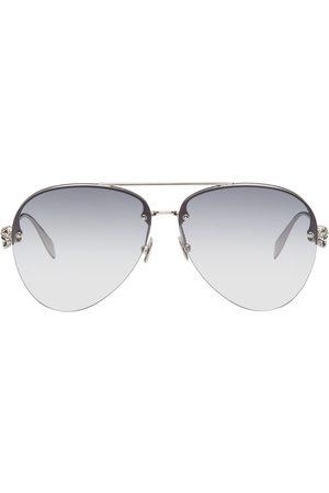 Alexander McQueen Men Aviators - AM0270S Aviator Sunglasses