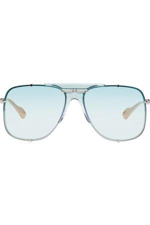 Gucci Women Aviators - Oversized Thin Aviator Sunglasses