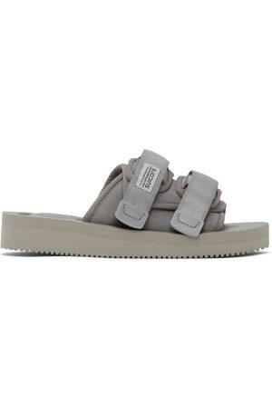 SUICOKE Grey MOTO-VS Sandals