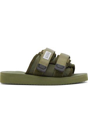 SUICOKE Khaki MOTO-CAB Sandals