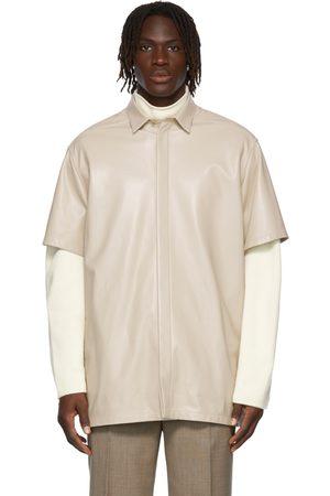 FEAR OF GOD Leather Short Sleeve Shirt