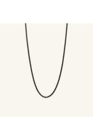 Mejuri Men Necklaces - Round Box Chain Necklace Titanium
