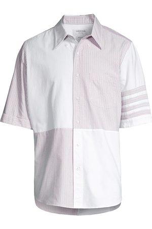 Thom Browne Short-Sleeve Button-Down Shirt