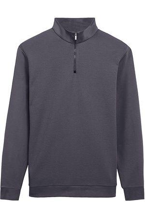 Bugatchi Quarter-Zip Long-Sleeve Sweater