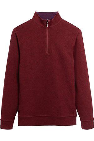 Bugatchi Reversible Quarter-Zip Sweater