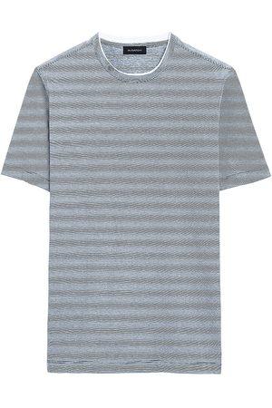 Bugatchi Comfort Short-Sleeve Crewneck Shirt